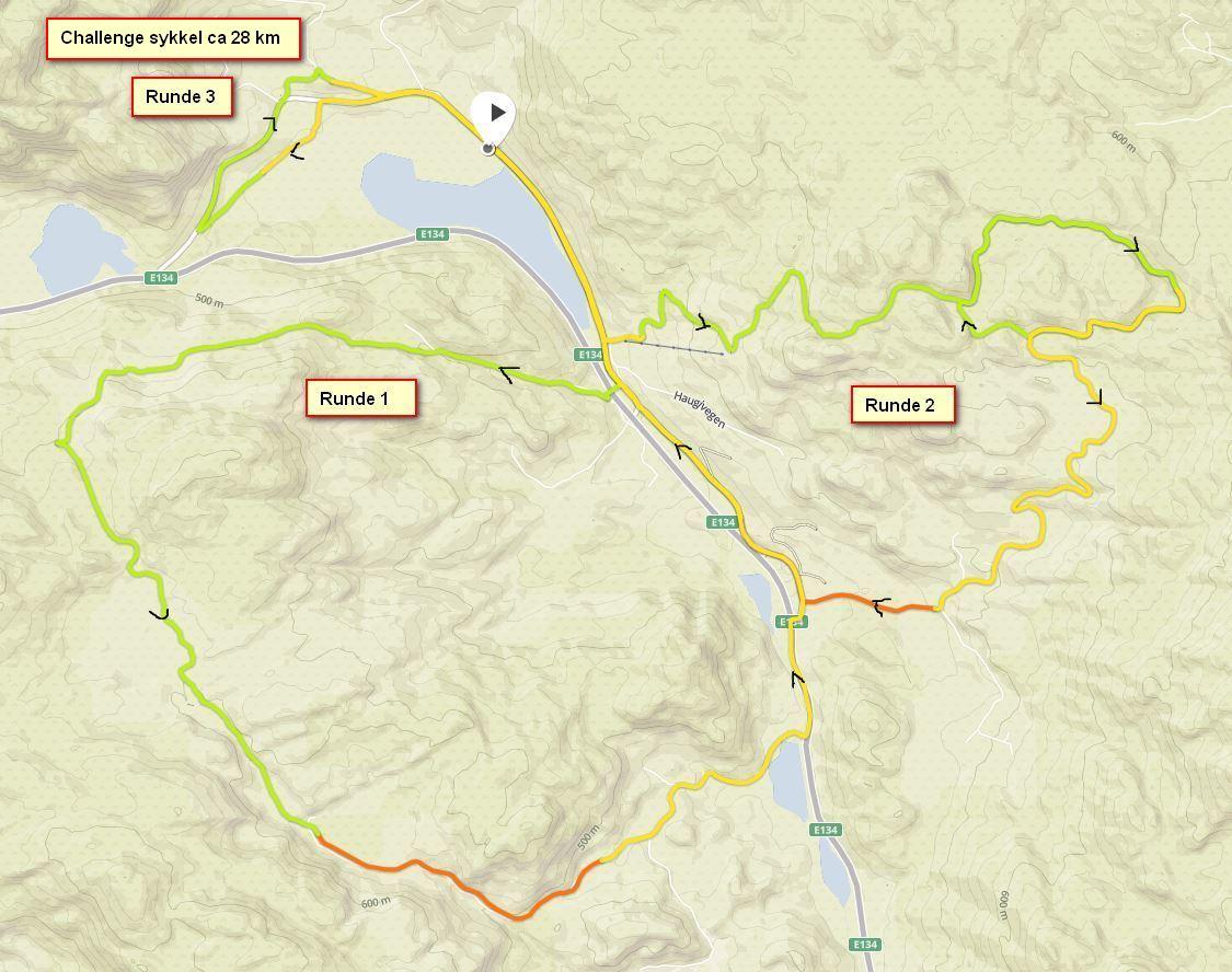 Kart sykling Challenge